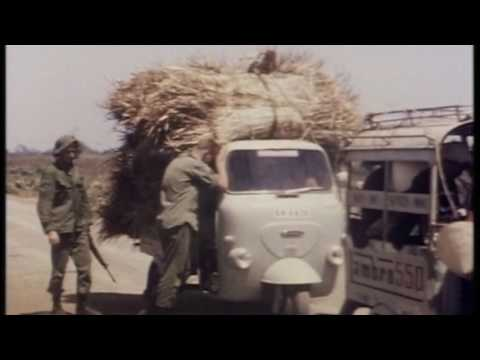 Movie Images of Private Don Tate in the 4th Battalion, Vietnam War