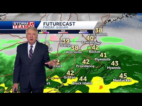 Video: More Cloud Cover Before Rain Arrives Overnight