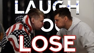 YOU LAUGH YOU LOSE! (With water in our mouths)