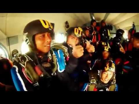 Military Free Fall Training - Kopus & SASR di Batujajar Juni