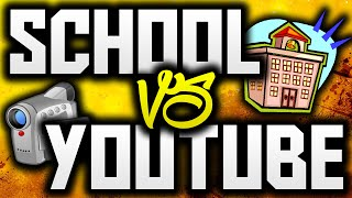 How To Balance School And YouTube! (Commentary / Advice)