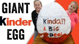 Giant kinder egg