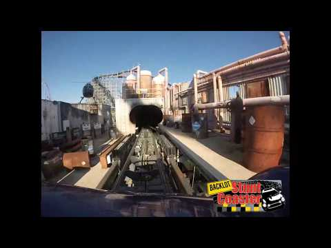 Backlot Stunt Coaster POV