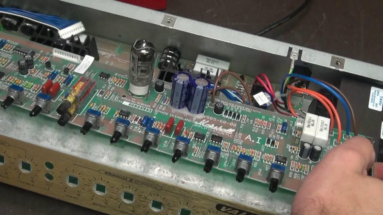 medium resolution of how to repair marshall vs65r valvestate combo guitar amp fix d lab