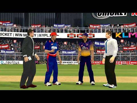 27th April IPL 11 Kolkata Knight Riders Vs Delhi Daredevils Real cricket 2018 mobile Gameplay