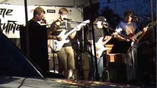 14 Year Old Guitarist Evan Thompson Playing Eruption By Van Halen Live