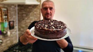 Торт Улыбка негра Шоколадный торт с суфле Նեգրի ժպիտ