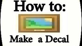 [ROBLOX] Wie man einen Aufkleber macht