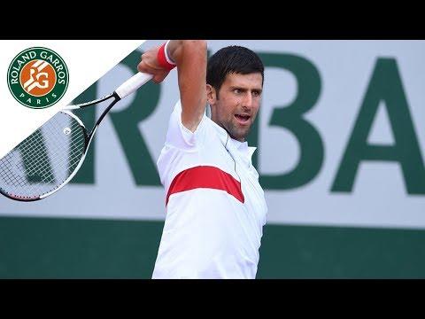 Beauty Shots #3 - Focus on Novak Djokovic I Roland-Garros 2018