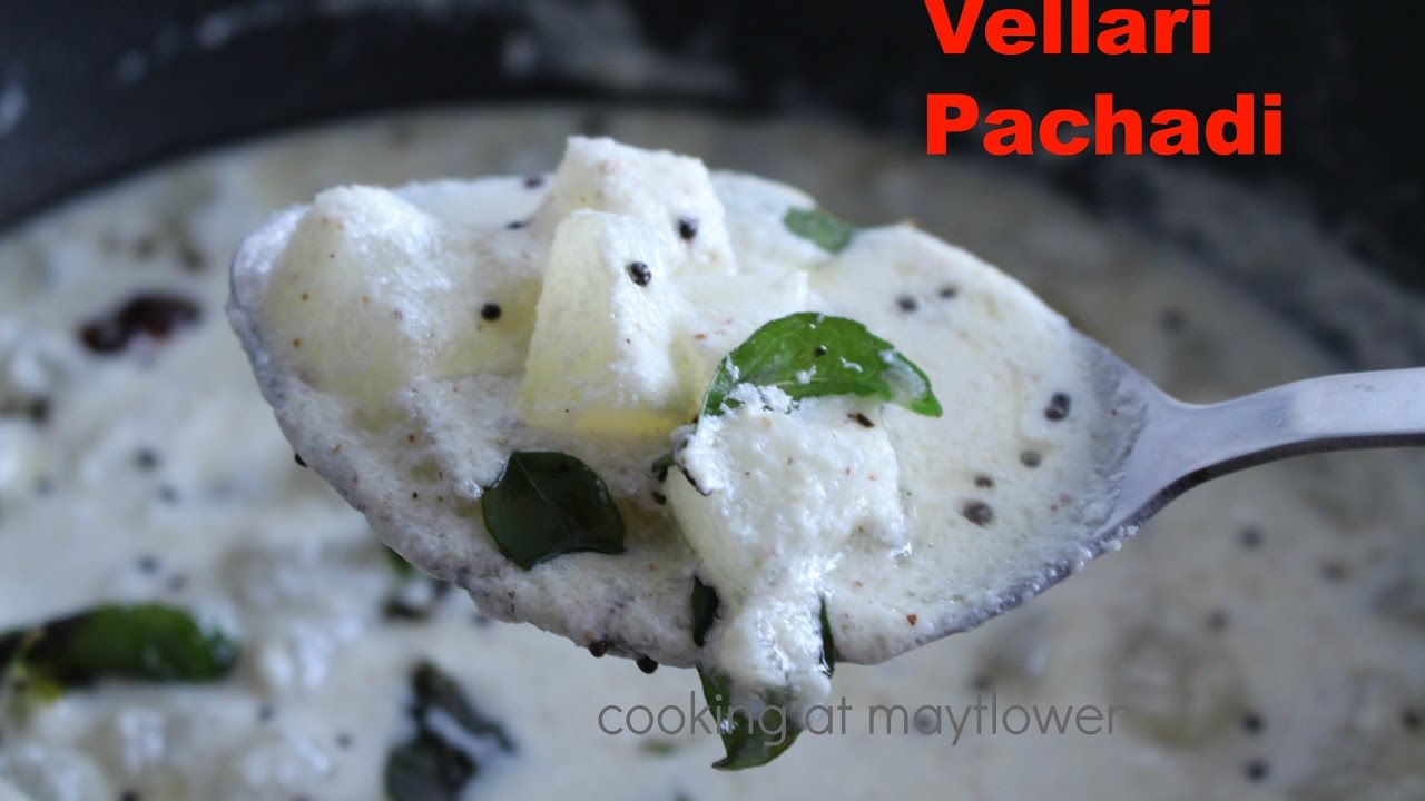 Vellarikka pachadi recipe / How to make cucumber pachadi ...