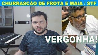 Alexandre Frota e Rodrigo Maia em churrascão / STF e a prisão em 2ª instância