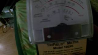 Electronic harassment attack recorded on my EMF detector. -Targeted Individual. Gang Stalking.-