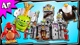 Lego Angry Birds Movie KING PIG's CASTLE 75826 Stop Motion Build Review