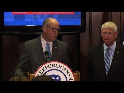 Republican leaders celebrate Trump victory, grip on US Congress