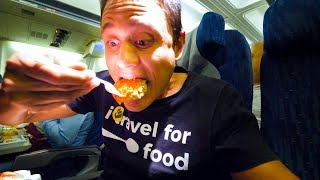 Uzbekistan Airways FOOD REVIEW - Flying from Bangkok to Tashkent, Uzbekistan