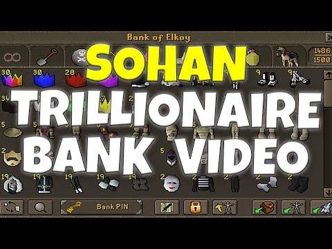Elkoy | Sohans TRILLIONAIRE Bank Video | RICHEST INGAME! | RSPS