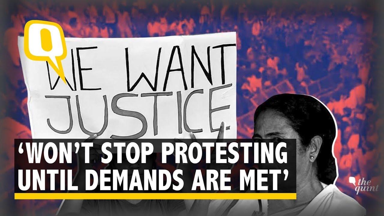 doctors protest citywide defying wb cm mamata banerjee u2019s