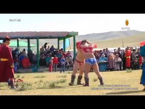 【Mongolian Wrestling】Live 10 Sept 2017 pt. 2