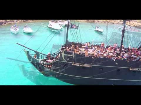 Лучшее видео Кипр пиратский корабль 2016