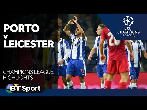 Porto 5-0 Leicester City   Champions League highlights New Flash Game