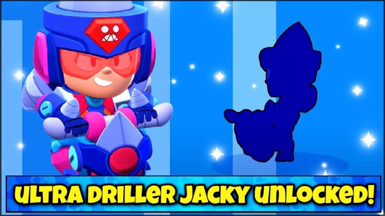 ULTRA DRILLER JACKY UNLOCKED! YES!