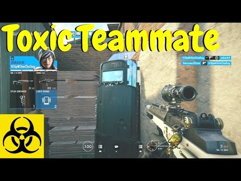 Dealing w Toxic Players in Rainbow Six Siege