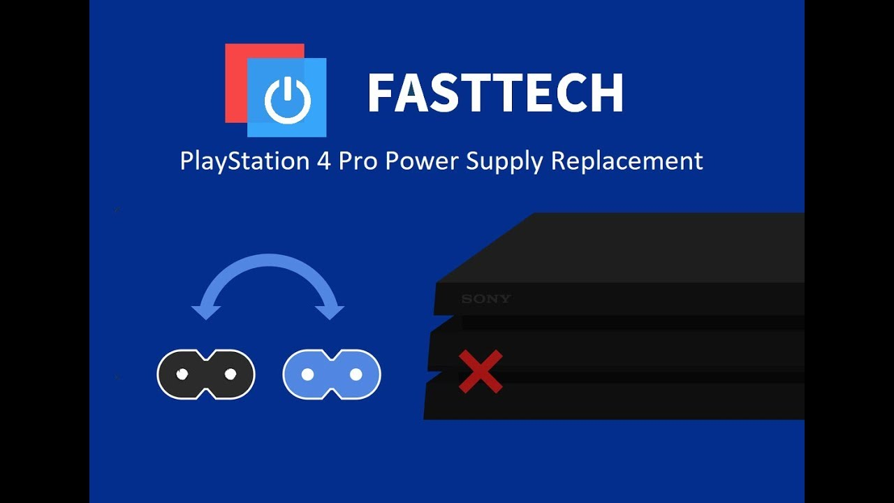 PS4 Pro Not Turning On Repair (Power Supply Replacement)