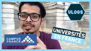 VLOG - أسرار القبول في الجامعات الفرنسية