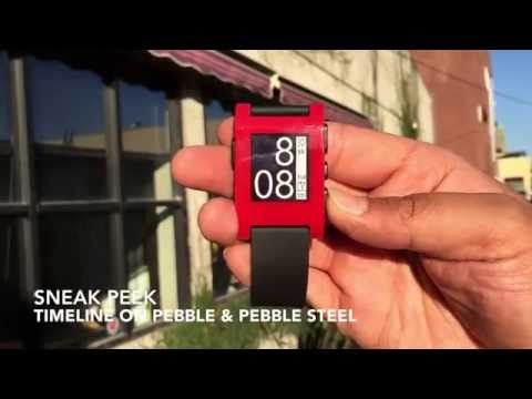 Sneak Peek: Timeline for Pebble and Pebble Steel