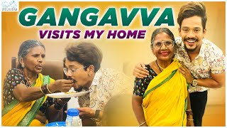 Gangavva Visits My Home || Ft. Gangavva || Mehaboob Dil Se || Infinitum Media