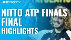 Tsitsipas Beats Thiem To Win Maiden ATP Finals Title! | Nitto ATP Finals 2019 Final Highlights