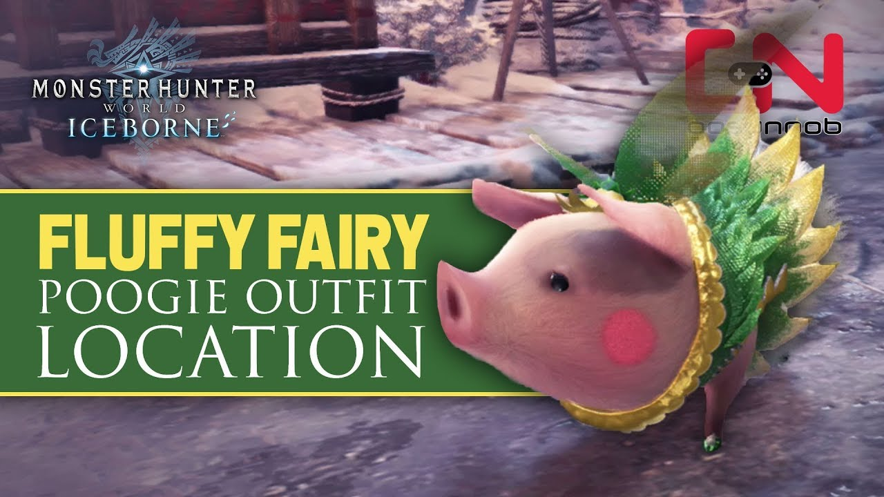 How to get Fluffy Fairy - Poogie Outfit Location - MHW Iceborne