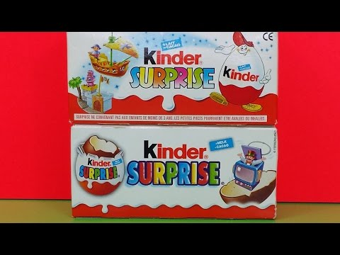 Kinder Surprise Eggs 1999 & 2003 Toys