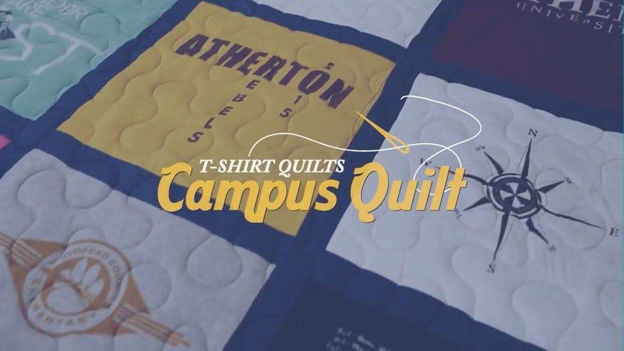 d79bcb8b T-shirt Quilt - Campus Quilt Co