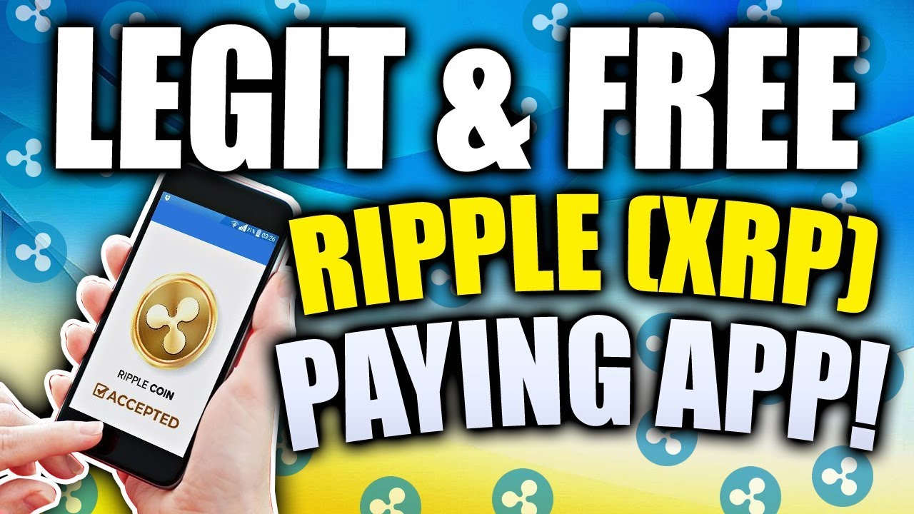 NEW! LEGIT and FREE XRP paying app! - YouTube
