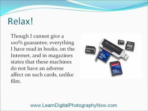 Digital Camera Protection From X-Ray Machines