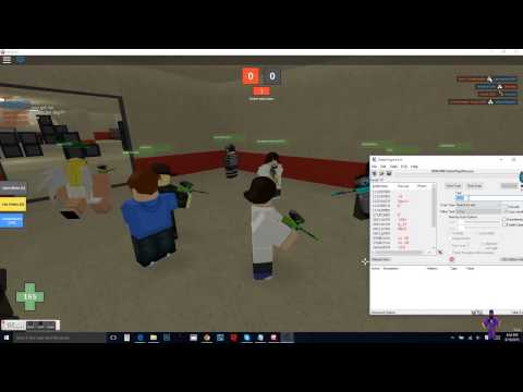 How To Fire Rate and Speed Hack in Mad Paintball ROBLOX Auguest 2015