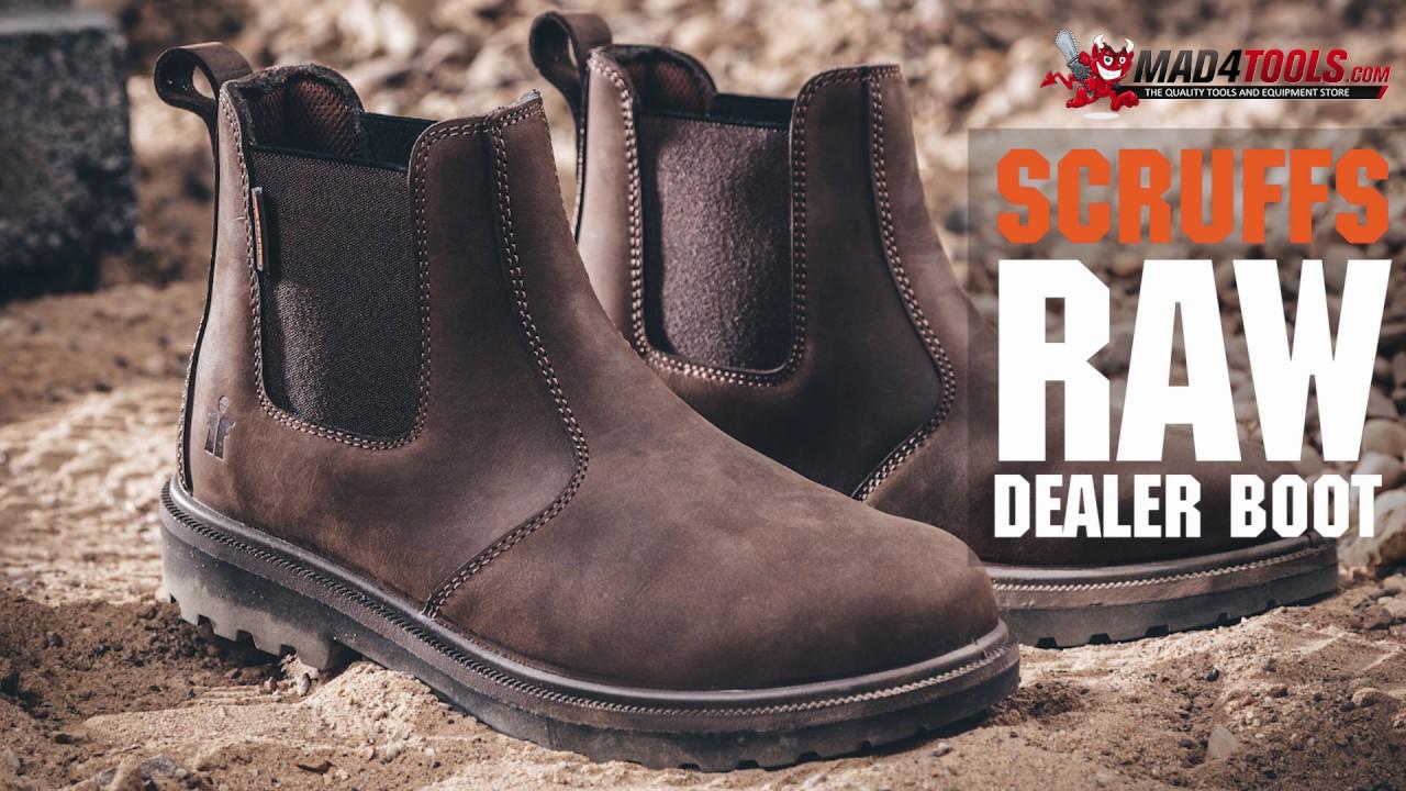 Scruffs Raw Dealer Safety Work Boots