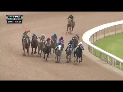 RACE REPLAY: 2016 Arkansas Derby Featuring Creator