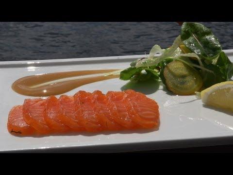 Gravlax with Chef Marten Karlsson of Sweden's Fjäderholmarna Krog