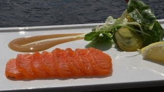 Gravlax with Chef Marten Karlsson of Sweden's Fjäderholmarna Krog