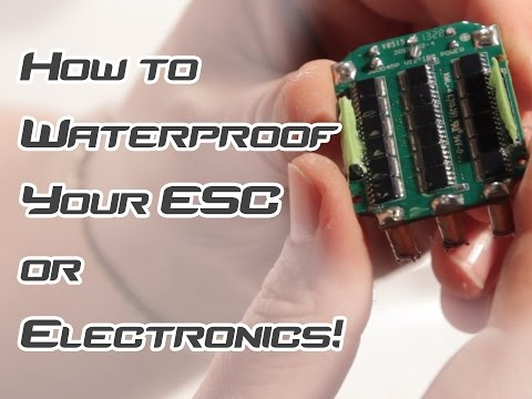 Waterproof your ESC and Radio Control Car or Boat Electronics