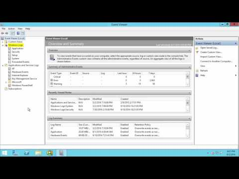 OSIsoft: How to View & Collect Logs with Windows Event Viewer for PI Applications