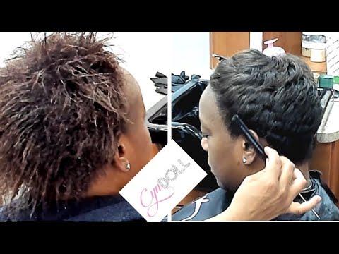 Short Haircut Tutorial Youtube