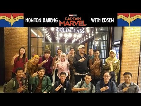 Nonton Bareng Captain Marvel With ED-SEN