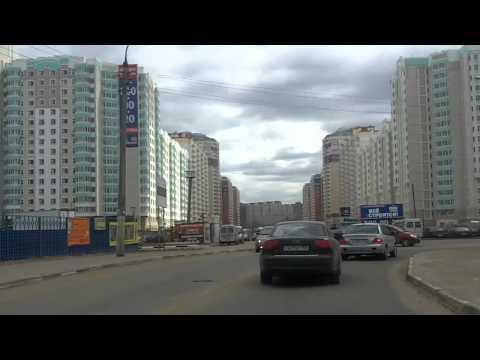 Текстильщики - Люберцы - Кузьминки 20/04/2011 (timelapse 4x)