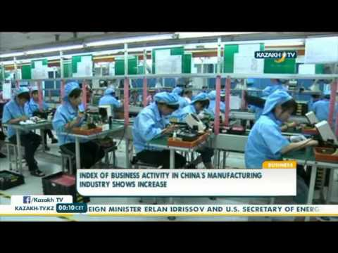 Index of business activity in China's manufacturing industry shows increase - Kazakh TV