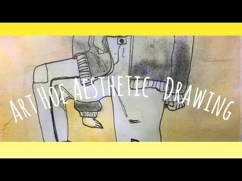 Art Hoe Aesthetic Drawing Youtube