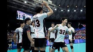西田有志 Yuji Nishida Japan vs Poland FIVB Volleyball Nations League