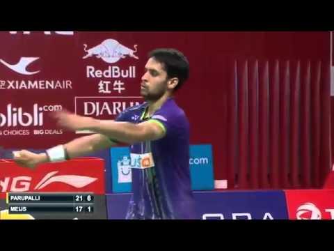 Day 1 - Parupalli Kashyap vs Erik Meijs -  TOTAL BWF World Championships 2015 H